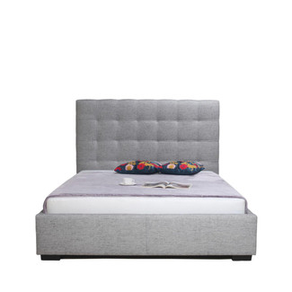 Tufted Storage King Bed