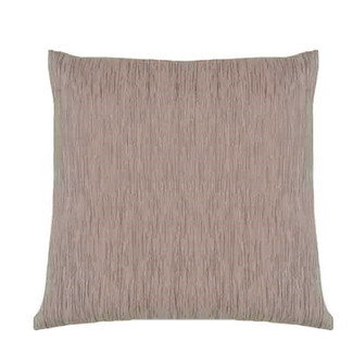 Tan Feather Down Accent Pillow 18x18