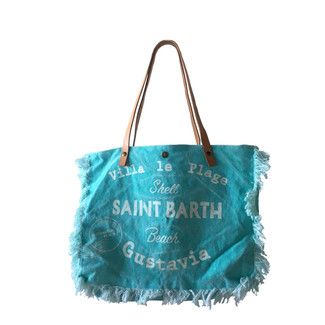 Aqua Saint Barth Fringe Vacation Bag