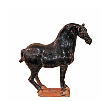 Terracotta Black Stallion