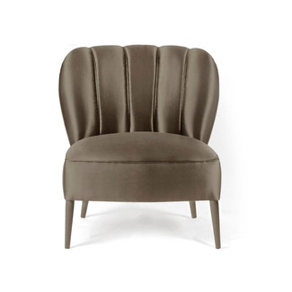 Russet Leather Arm Chair