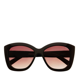 Fiona Cat Eye Sunglasses - Black