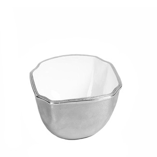 Aluminum & Enamel Bowl - Small