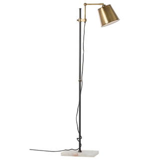 Antique Bronze Finish Floor Lamp