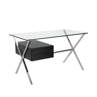 X-Designed Stainless Steel Desk