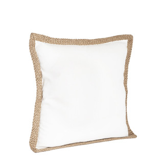 Lake Geneva Braided Jute Pillow