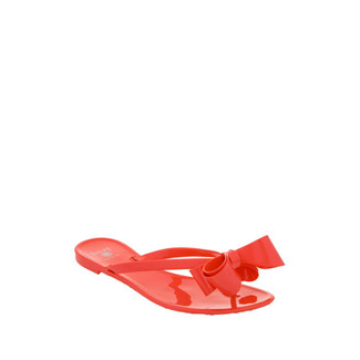 Bow Jelly Sandal Coral