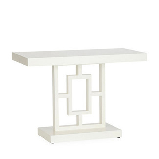 White Lacquered Console