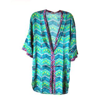 Green Fairy Kimono Absinthe