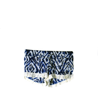 ATHENA SHORTS (WHITE AND BLUE)