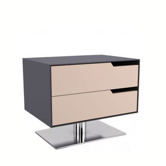 Contemporary Frappe Matte Nightstand