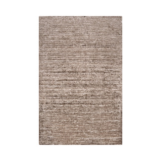 HAND WOVEN LUSTROUS Gray VISCOSE RUG