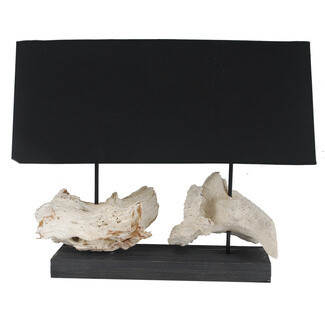 Double Tree Root Table Lamp