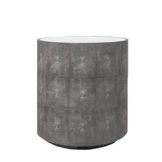 Cara Faux Shagreen Side Table
