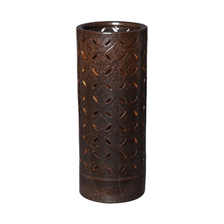 Lattice Umbrella Stand - Gun Metal