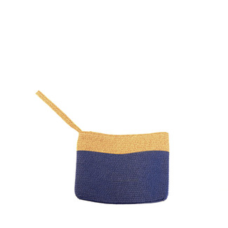 Royal Oatmeal Wristlet