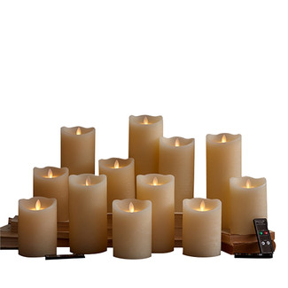 Set of 15 Dazzler Flameless Candles