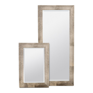 Charles Gray Hair-On-Hide Mirror