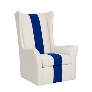 Saddle Stitched High Back Swivel Chair