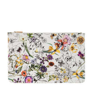 Floral Zipped Pouch