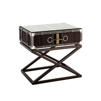 Equestrian inspired Side Table with bit detail