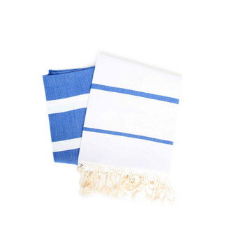 Fouta Bicolor Beach Towel