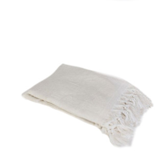 Fouta Reversible Terry Towel - Off White