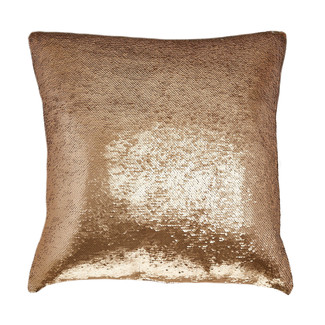 Gold & Ivory Sequin Pillow