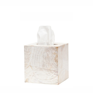 Kabibe Shell Tissue Box