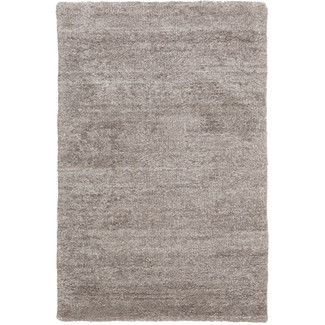 LUSTROUS TAUPE VISCOSE RUG