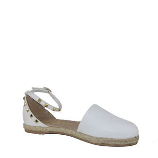 Meller Espadrille - White Leather