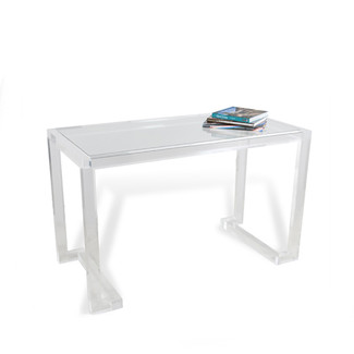 Scratch Resistent Glass & Acrylic Desk
