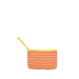 Orange Oatmeal Clutch