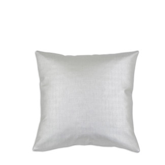 Shimmer Silver Throw Pillow