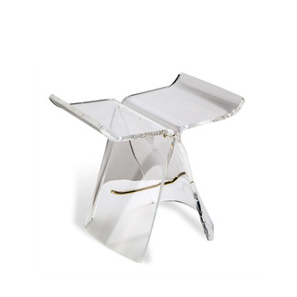Willa Acrylic Butterfly Stool