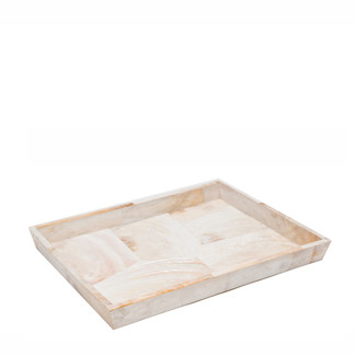 Kabibe Shell Tray, Large