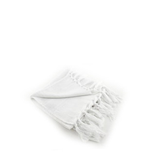 Light Terry Guest Towel - White