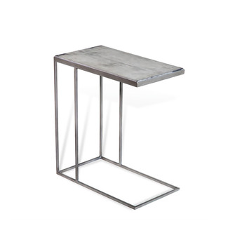 JOHANNES HUGGING TABLE- GREY VELLUM