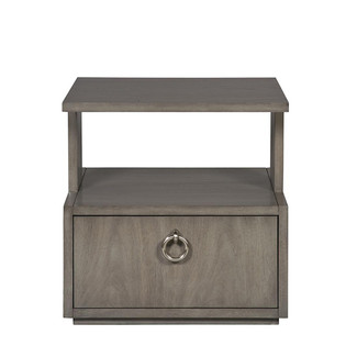 Slocum Hall Side Table- Langdon Gray