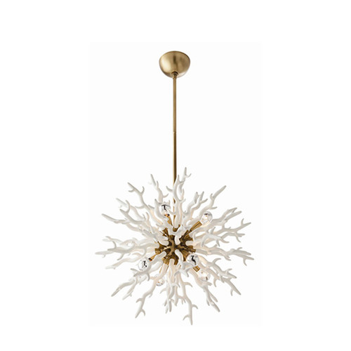 Coral ChandelierWhite GoldCast Resin CUDESSO – Coral Chandelier