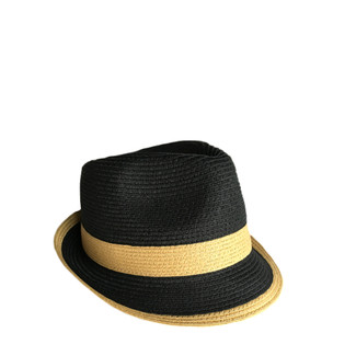 Black Fedora with Toast Band