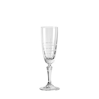 Finestra Champagne Flutes - Set of 6
