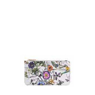Floral Mini Zippered Pouch
