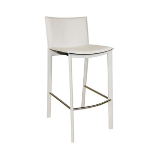 Panca Bonded Leather Barstool