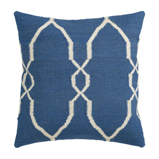 Woven Pillow with Classic Moroccan Pattern