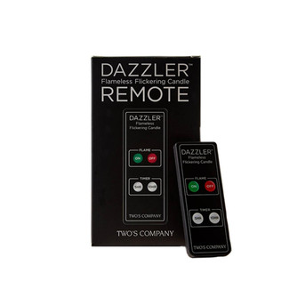 Dazzler Flameless Flickering Candle Remote