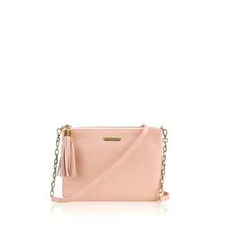 Chain Crossbody Bag - Blush