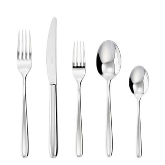 Hannah Stainless Steel 5 Pcs Place Setting