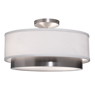 Scandia Semi Flush Light