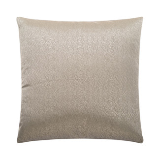 Guilty Pleasure Silver Accent Pillow